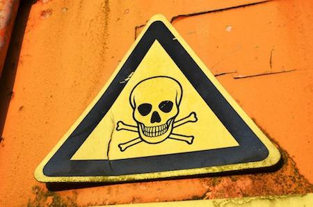 Tête de mort danger guadeloupe